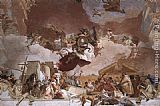 Giovanni Battista Tiepolo Apollo and the Continents [detail 8] painting